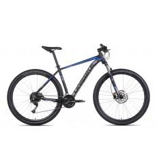Rower UNIBIKE SHADOW 29/21 czarno niebieski, kolekcja 2021