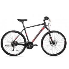 Rower Unibike ZETHOS M/19''  czarno-czerwony-2020r.