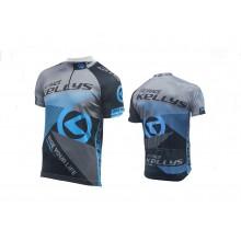 Koszulka KELLYS PRO Race krótki rękaw blue - L (016)